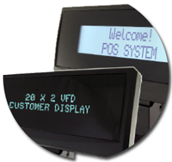 External POS customer display